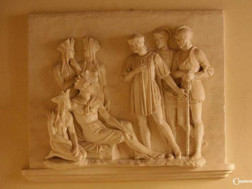 I bassorilievi in stucco del palazzo Faraggiana