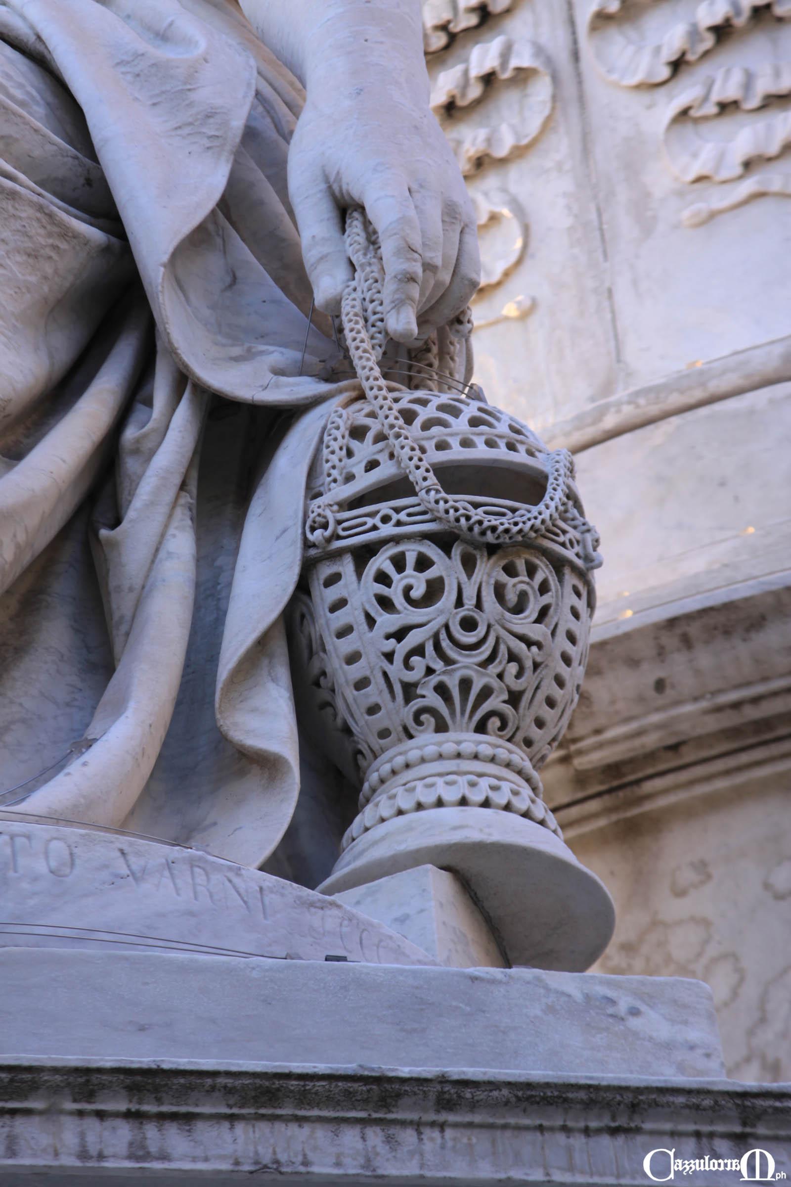 la Pietà opera di Santo Varni