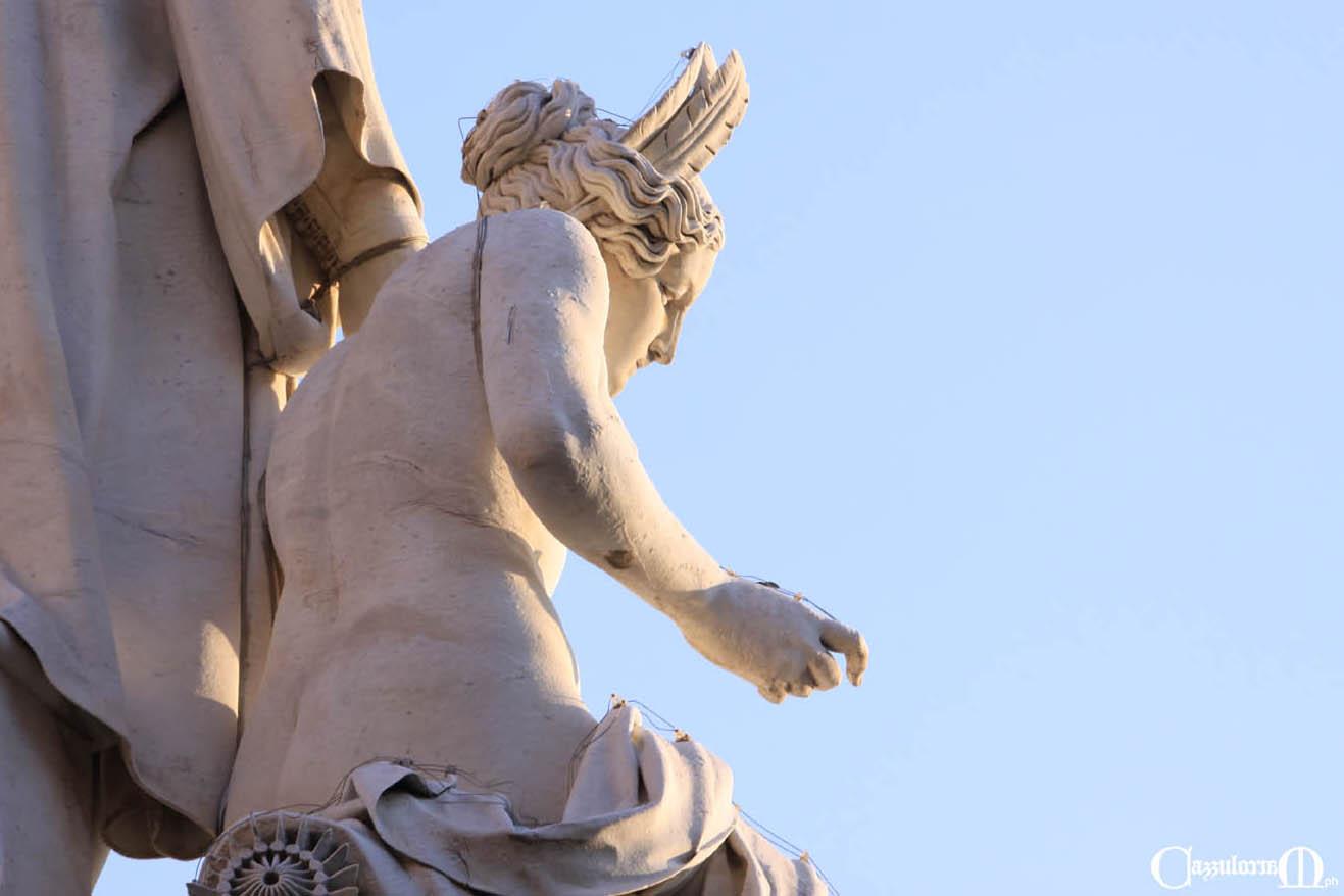 """Fig. 8 """"nella più bella nudità che scalpello di scultore traesse mai dal marmo"""""""