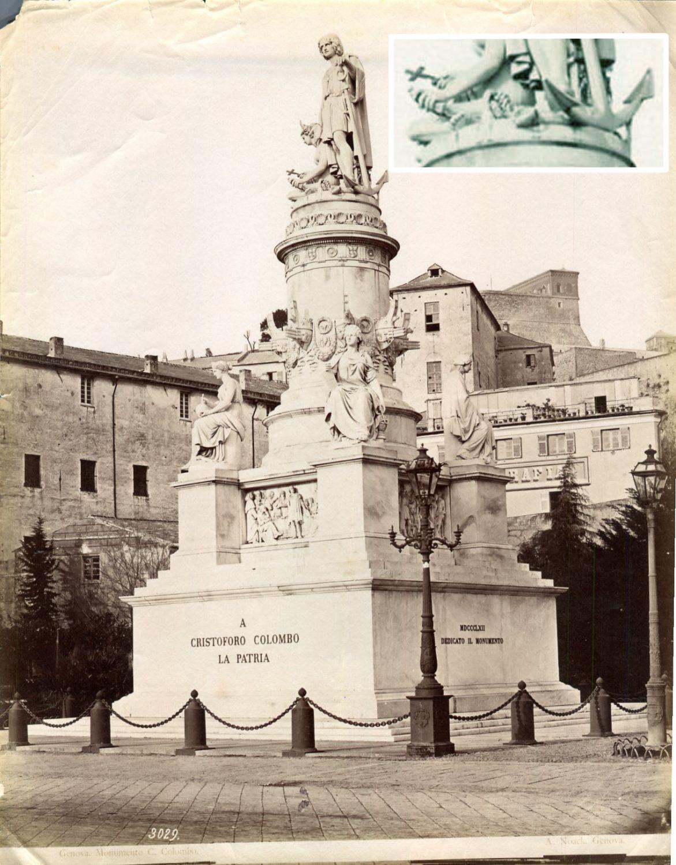 Fig. 5 In questa foto di Noak l'America con la croce in mano