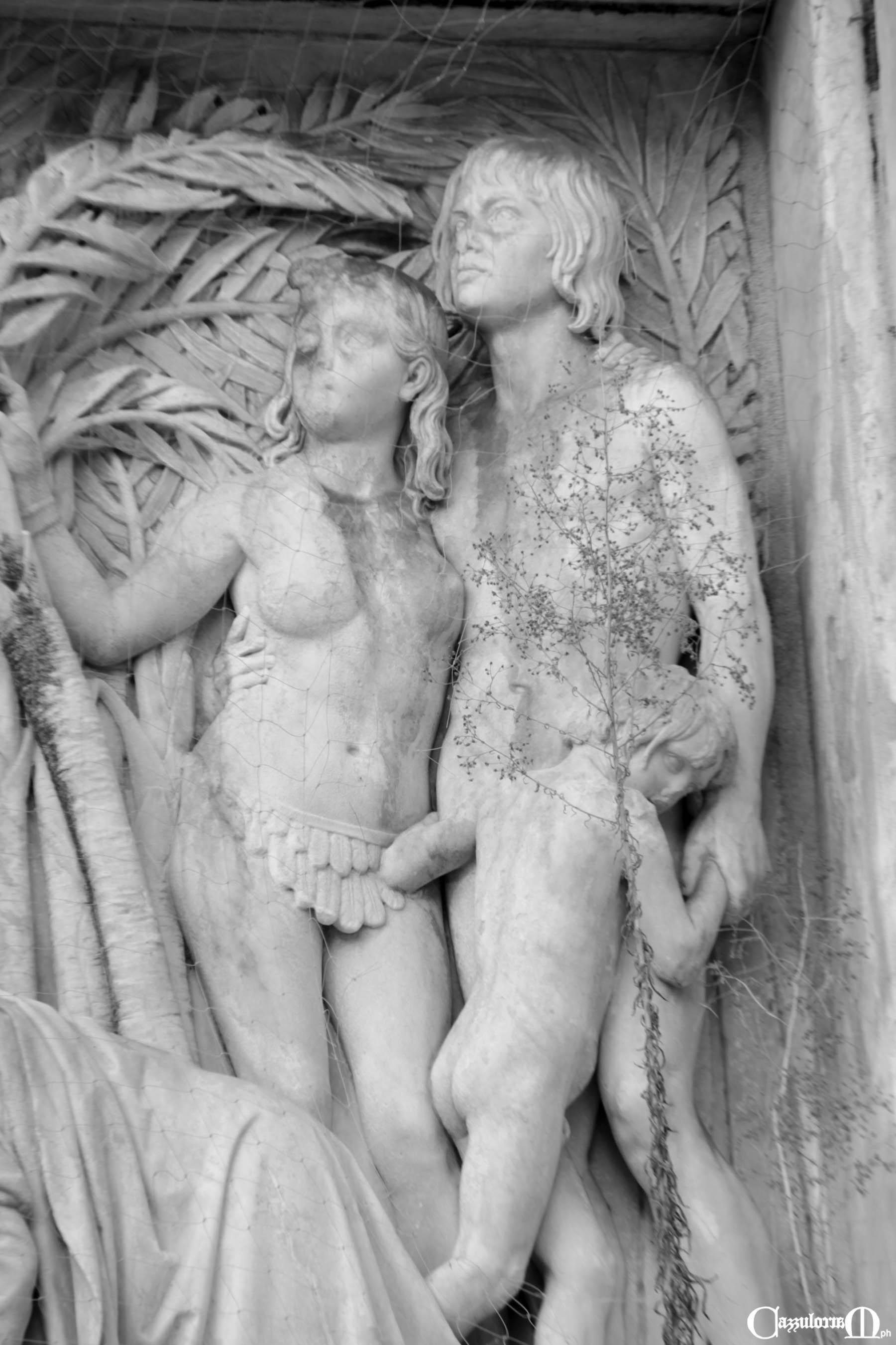 Fig. n. 6 - particolare del Bassorilievo del Costoli