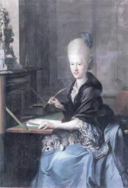 un'immagine della Principessa Carlotta di Sassonia-Meiningen